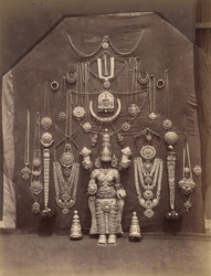 Jewellery, Ranganayakasvami Temple [Ranganatha Temple], Srirangam, Trichinopoly District. 299